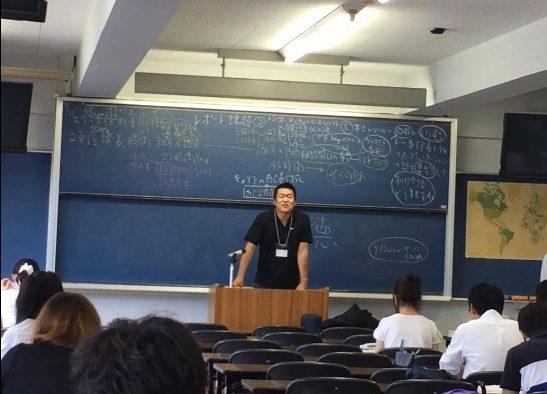 卒業して25年  大学講義の講師として講演しました(^^)/サムネイル